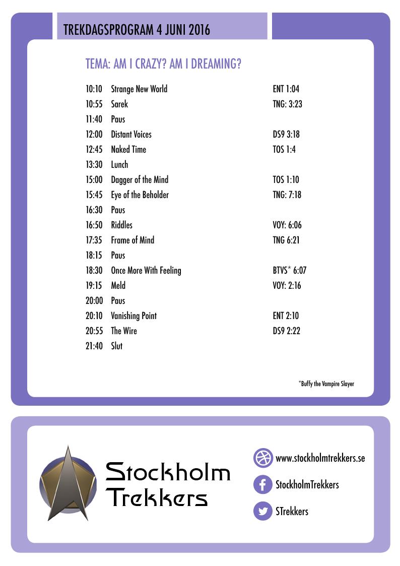 Program juni 2016