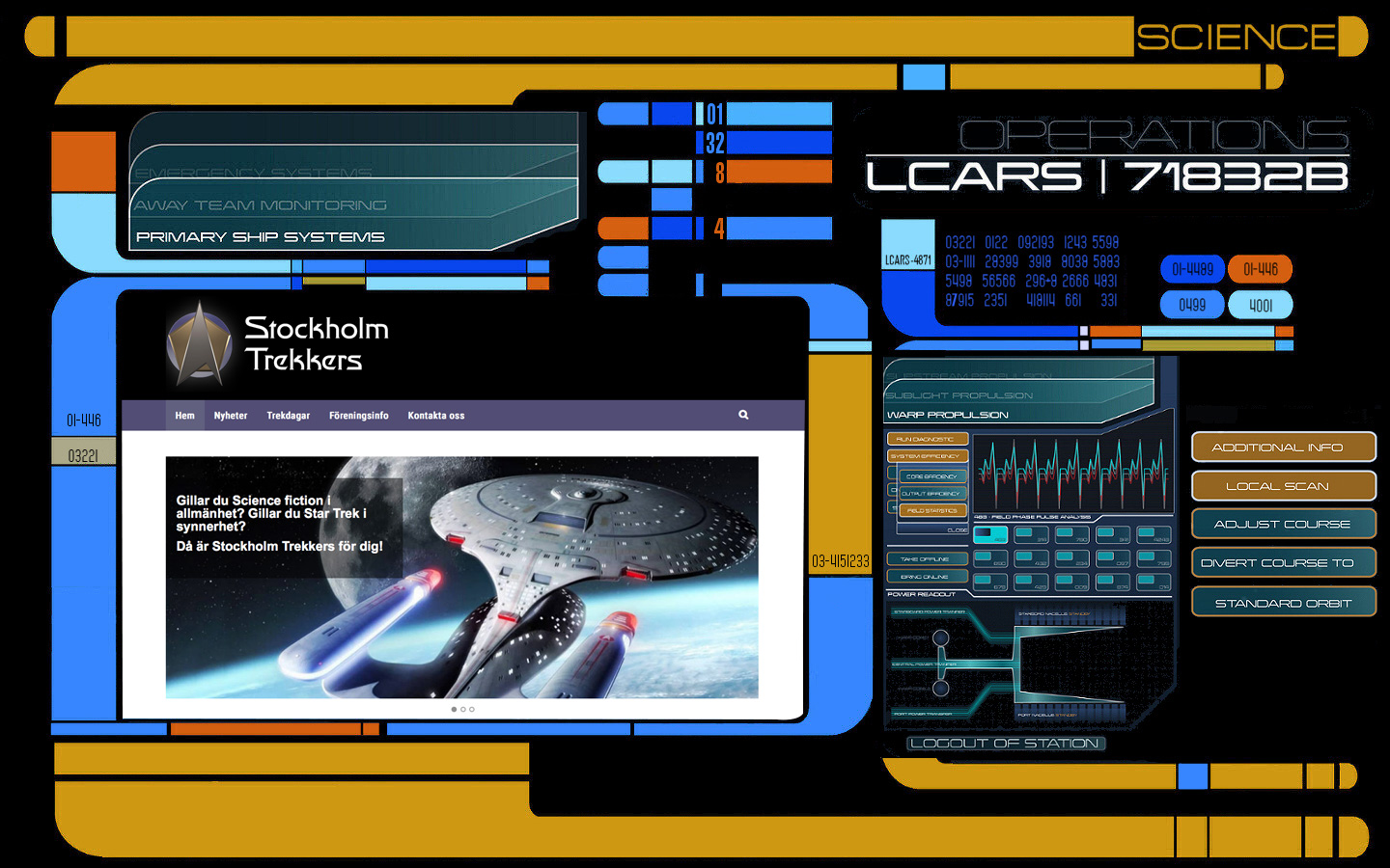 Website LCARS